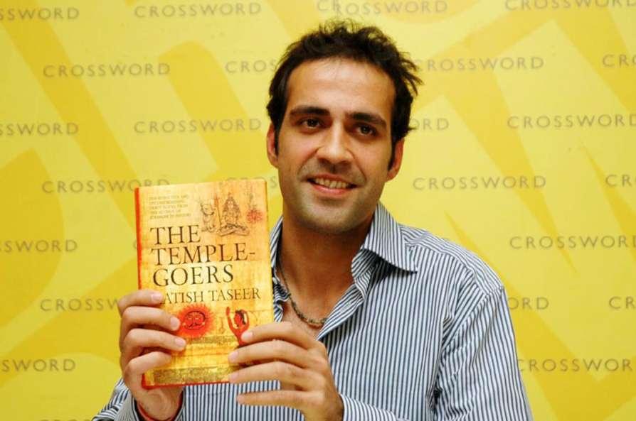 Author Aatish Taseer's